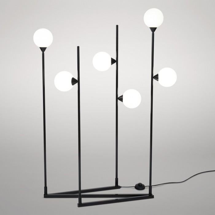 Lampadaire SPHERE AND TUBE