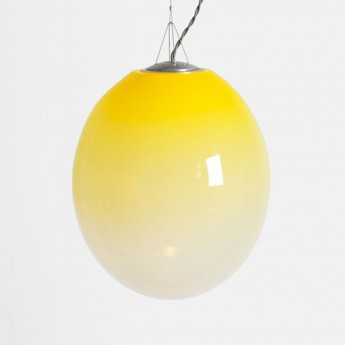 Suspension GRADATION jaune - Small