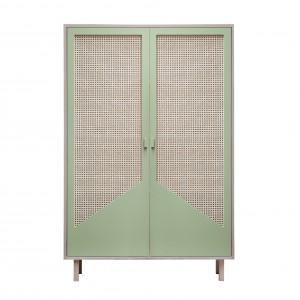 STRAW green closet