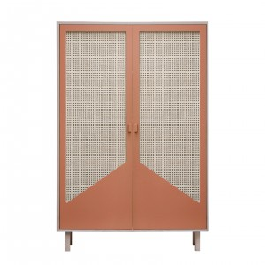 Armoire STRAW terracotta