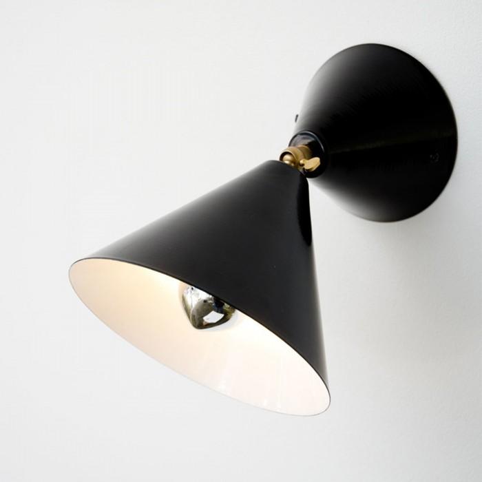 CONE wall light - Black