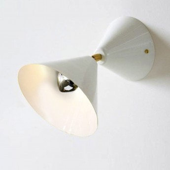 CONE wall light - White