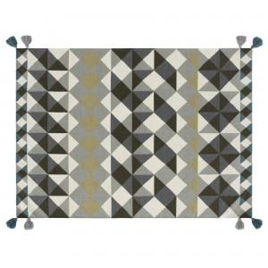 MOSAÏEK KILIM Grey carpet
