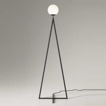 ONE GLOBE floor lamp - black