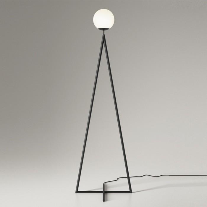 ONE GLOBE floor lamp - black