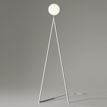 ONE GLOBE floor lamp - white