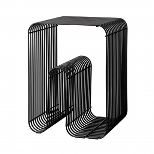 CURVA black stool