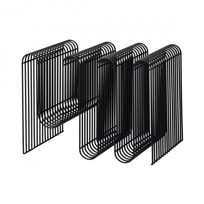 Porte-magazine CURVA noir