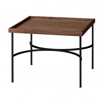 Table UNITY noyer/noir