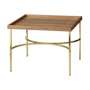 Table UNITY chêne/doré