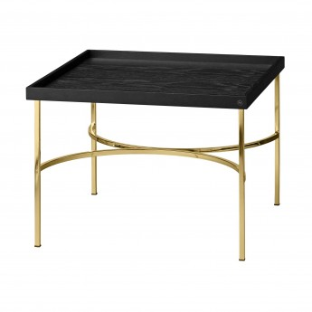 Table UNITY noir/doré