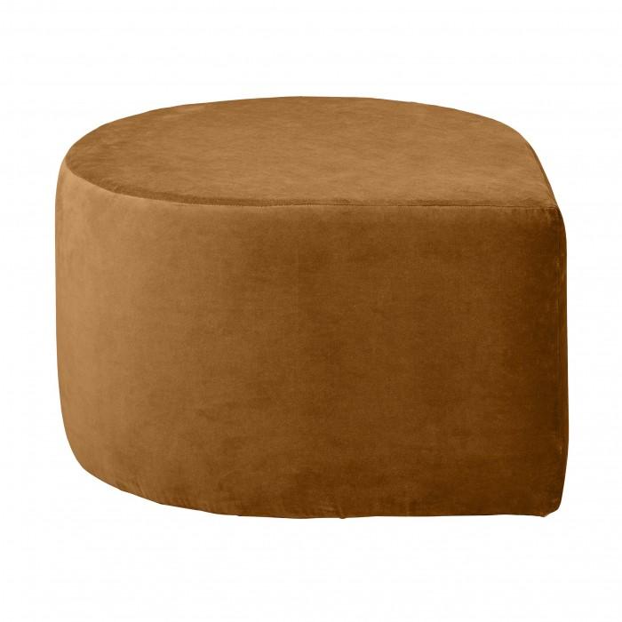 STILLA anthracite pouf