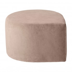 STILLA anthracite pouf
