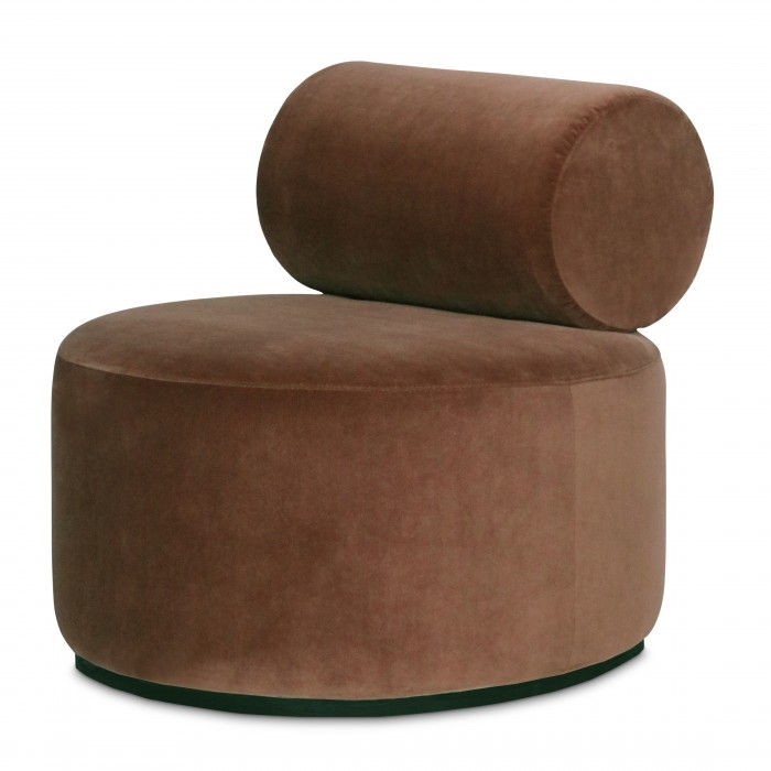 Fauteuil SINCLAIR - Fabric / Royal 160 magnolia