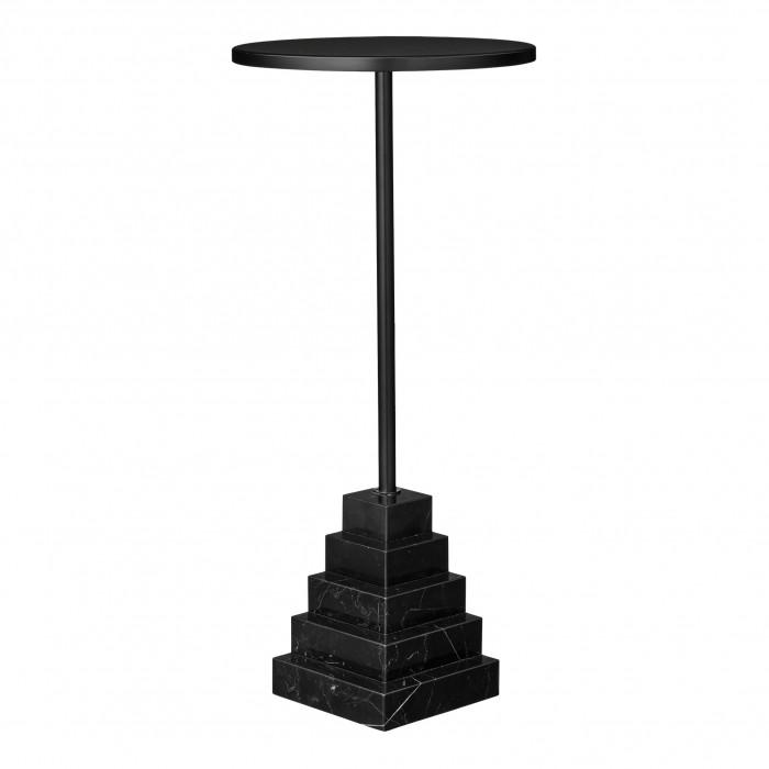 SOLUM black table H 55 cm