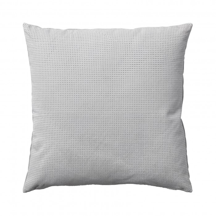 PUNCTA light grey cushion