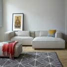 DUNBAR modular sofa - Polvere 21 Beige