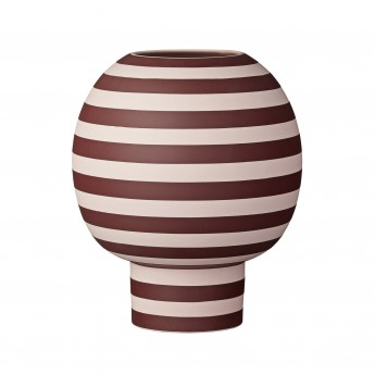 Vase VARIA rose/bordeaux