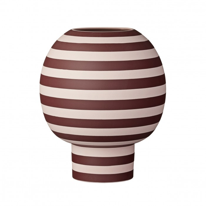 VARIA vase rose/bordeaux