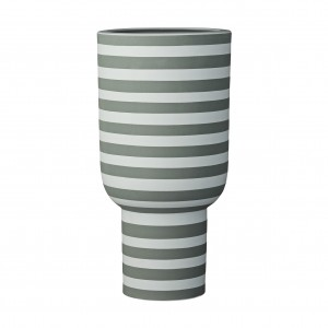 VARIA vase dusty green/forest