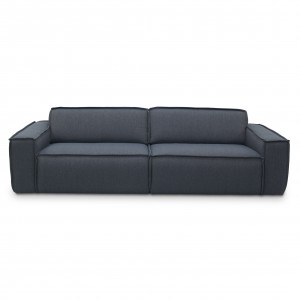 EDGE modular sofa - 3 seat - Sydney 81 Blue