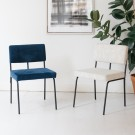 MONDAY chair - Board zinc 167