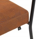MONDAY chair with arms - Razzle Dazzle Ginger