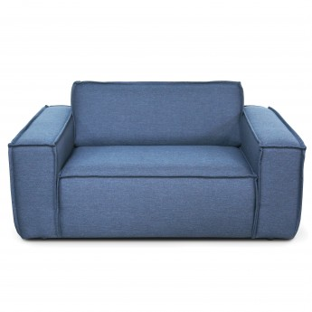 EDGE modular sofa - Loveseat - Sydney 80 Navy