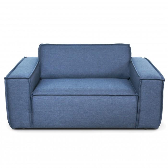 EDGE modular sofa - Loveseat - Sydney 80 Navy