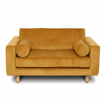 Canapé/loveseat AVENUE - Seven 23 yellow