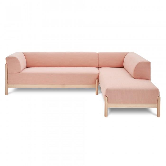 KATE modular sofa - Longchair - Steelcut 2 515