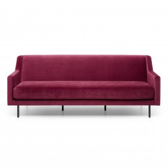 ACE sofa - Seven wine red