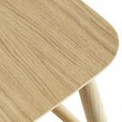 J42 chair matt lacquered oak