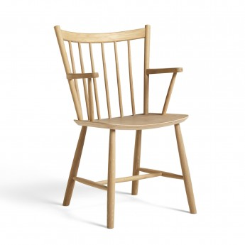 J42 chair matt lacquered oak