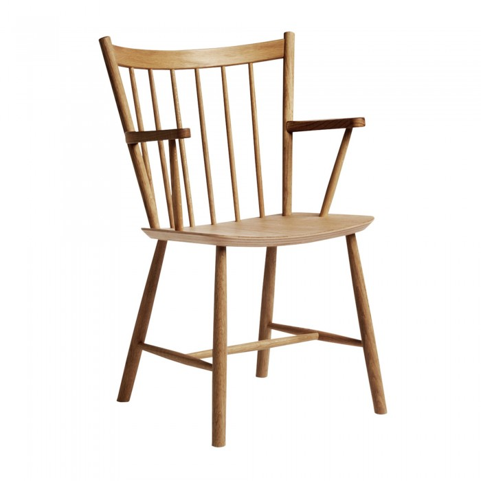J42 chair oiled oak