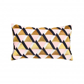 TRIANGLE cushion - Pink