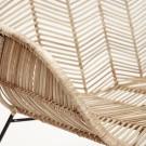 Bench - Natural rattan