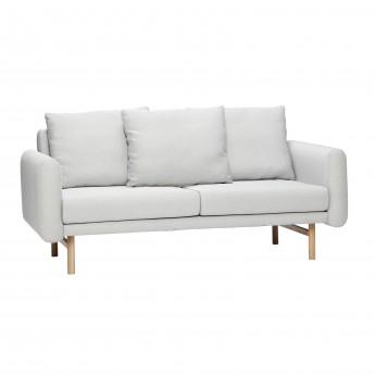 Canapé 2 personnes - Gris 1