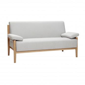 Canapé 2 personnes - Gris 2