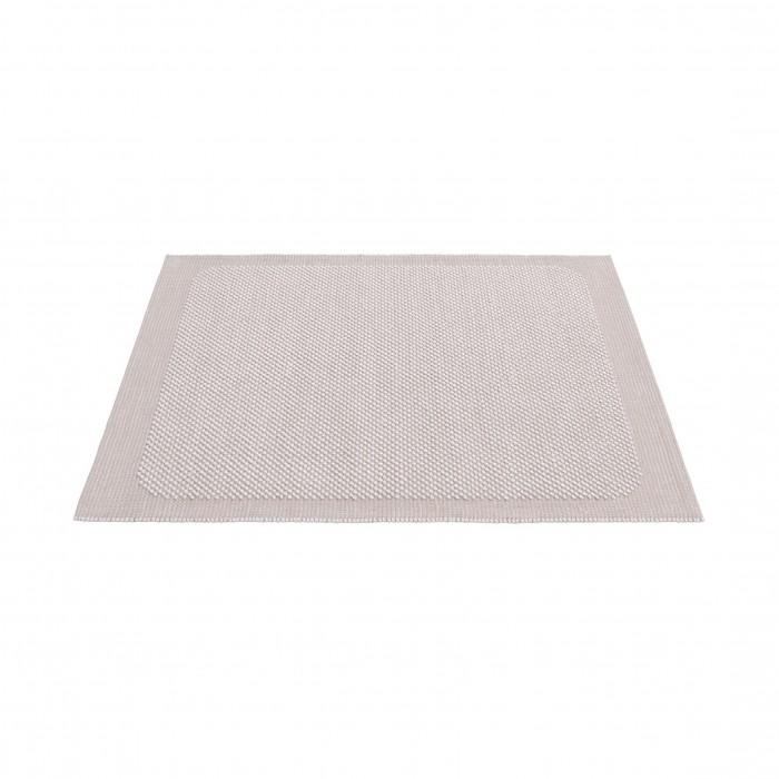 PEBBLE S rug - Pale rose