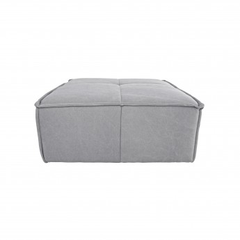 CUBE pouf - Light grey