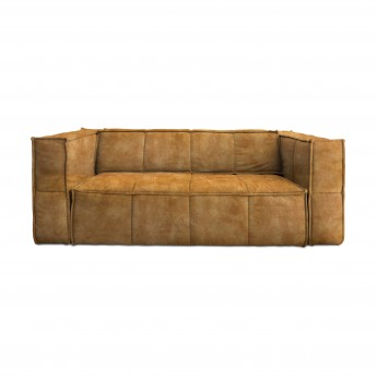 CUBE sofa 3 seats - Mustard yellow