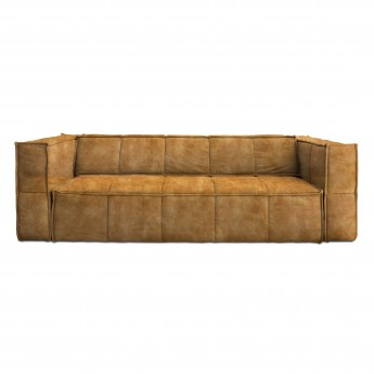 CUBE sofa 4 seats - Mustard yellow