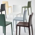 ELEMENTAIRE chair Blue Grey