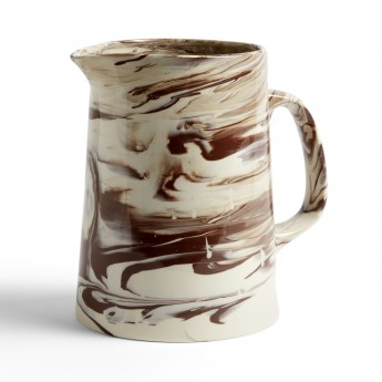 Brown MARBLED jug