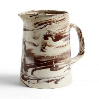 Brown MARBLED jug