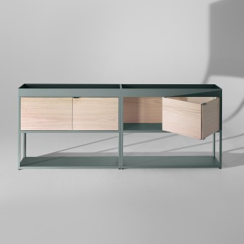 New Order Double Sideboard with top tray