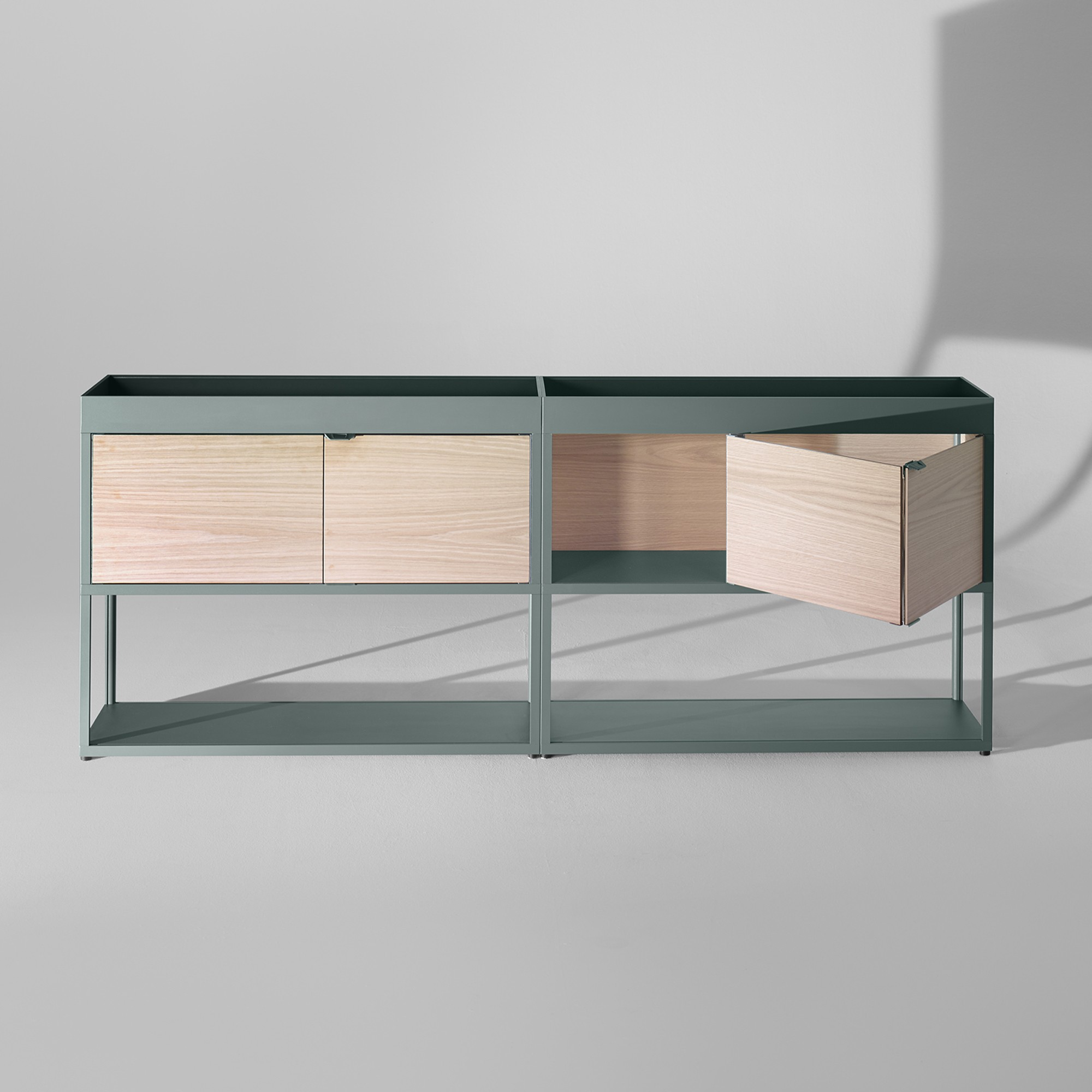 NEW ORDER double sideboard with top tray HAY