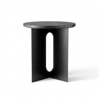 Table d'appoint ANDROGYNE - Marbre noir