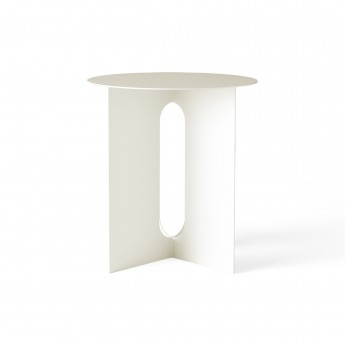 ANDROGYNE side table - White